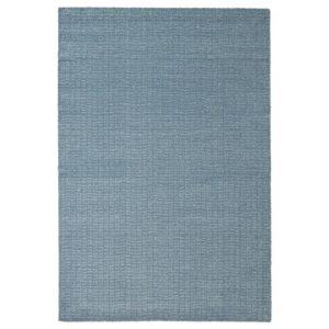 ЛАНГСТЕД Ковер, короткий ворс, голубой 60x90 см - 804.951.77