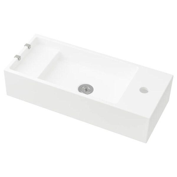 ЛИЛЛОНГЕН Одинарная раковина, белый 62x27x14 см - 303.690.39