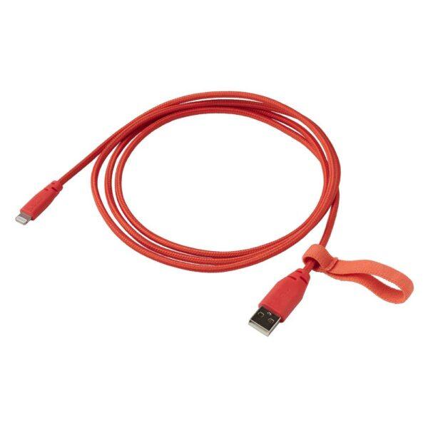 ЛИЛЛЬХУЛЬТ Кабель USB тип А – текстиль/оранжевый 1.50 м - 804.928.43