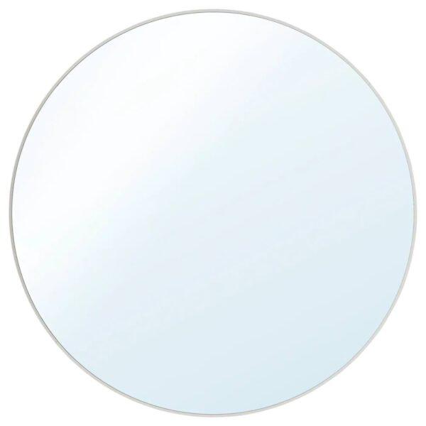 ЛИНДБЮН Зеркало, белый 80 см - 004.937.09