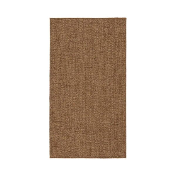 ЛЮДЕРСХОЛЬМ Ковер безворсовый, д/дома/улицы, классический коричневый 80x150 см - 304.953.92
