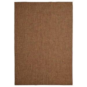 ЛЮДЕРСХОЛЬМ Ковер безворсовый, д/дома/улицы, классический коричневый 160x230 см - 304.954.10