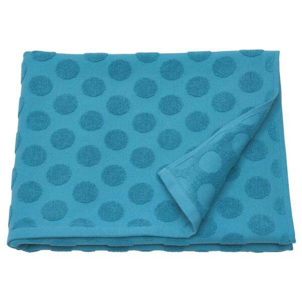 МОЛСЕЛЬВА Банное полотенце, синий 70x140 см - 704.920.42