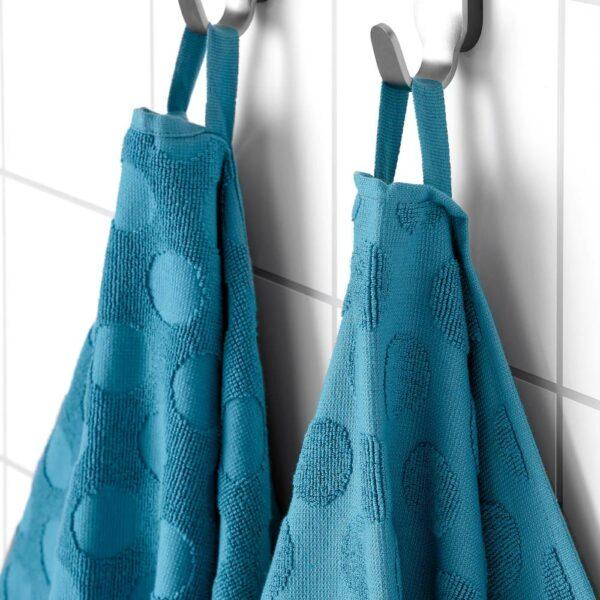 МОЛСЕЛЬВА Полотенце, синий 50x100 см - 004.920.50