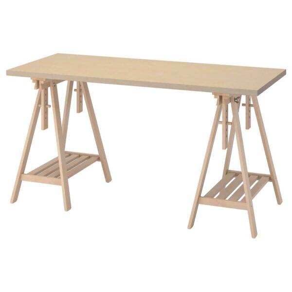 МОЛСКЮТТ / МИТТБАКК Письменный стол, береза 140x60 см - 094.177.92