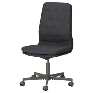 МУЛЛЬФЬЕЛЛЕТ Конференц-стул, на колесиках, Нагген темно-серый - 404.725.64