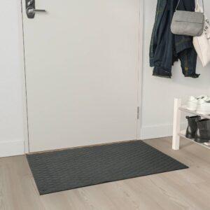 ОСТЕРИЛЬД Придверный коврик для дома, темно-серый 60x90 см - 504.952.06