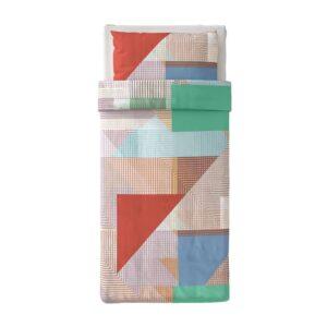 ПИМПЕРНЁТ Пододеяльник и 1 наволочка, разноцветный 150x200/50x70 см - 304.906.05