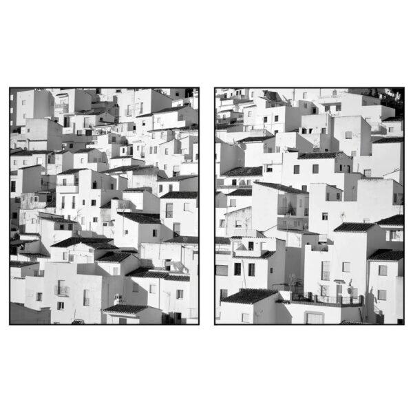 ПЬЕТТЕРИД Картина, Городок в горах 40x50 см - 204.955.85