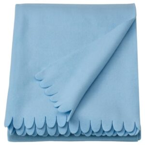 ПОЛАРВИДЕ Плед, голубой 130x170 см - 104.951.71