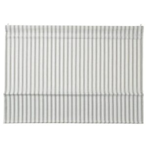 РИНГБЛУММА Римская штора, бел/зелен/в полоску 80x160 см - 504.910.72