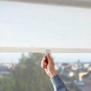 САНДВЕДЕЛ Рулонная штора, бежевый 120x195 см - 104.697.23