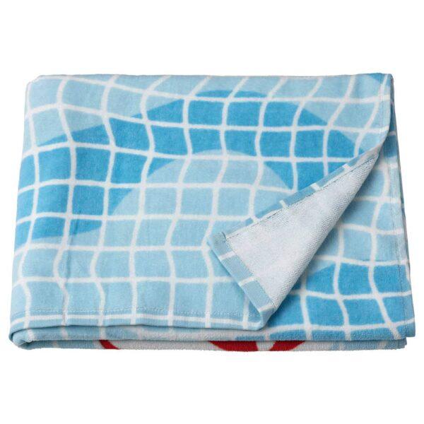СПОРТСЛИГ Банное полотенце, рисунок «бассейн» 70x140 см - 704.957.24