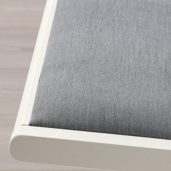 ТЕРЬЕ Стул складной, белый/Книса светло-серый - 404.855.71