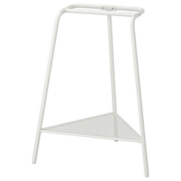 ТИЛЛЬСЛАГ Опора для стола, белый металлический - 104.971.94