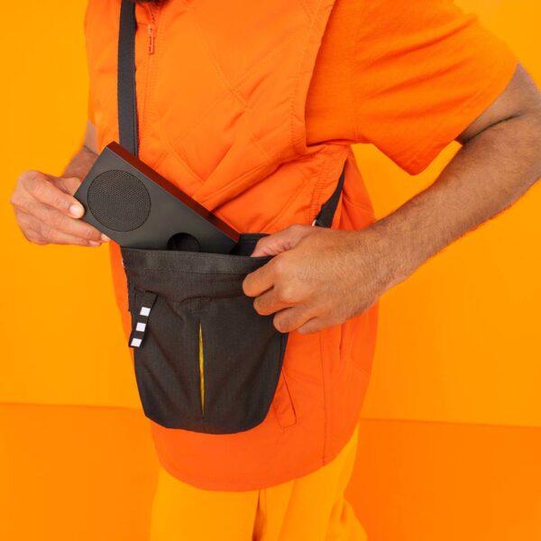 ВЭРЛДЕНС Сумка через плечо, черный 17x5x20 см/2 л - 104.879.15
