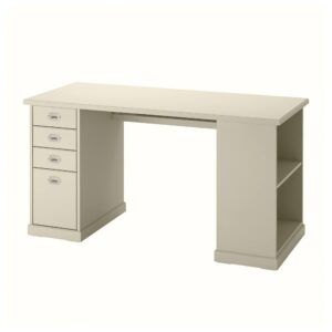 ВЕБЬЁРН Письменный стол, бежевый 140x72 см - 204.608.40
