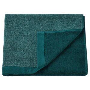 ХИМЛЕОН Банное полотенце, бирюзовый/меланж 70x140 см - 104.918.37