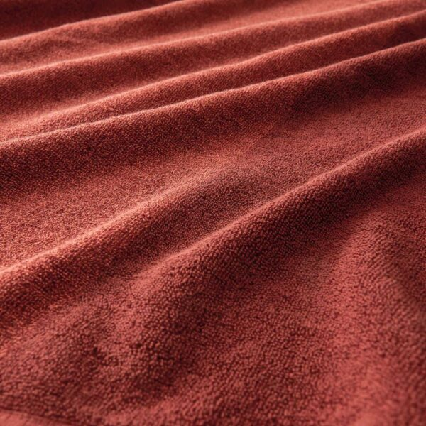 ХИМЛЕОН Банное полотенце, коричнево-красный/меланж 70x140 см - 904.918.24