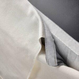 БЕРГМУНД Чехол для барн таб со спинкой, Инсерос белый - 204.810.98
