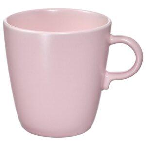 ФЭРГКЛАР Кружка, матовая поверхность светло-розовый 37 сл - 404.781.94