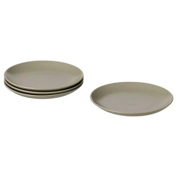 ФЭРГКЛАР Тарелка десертная, матовая поверхность зеленый 20 см - 004.782.09