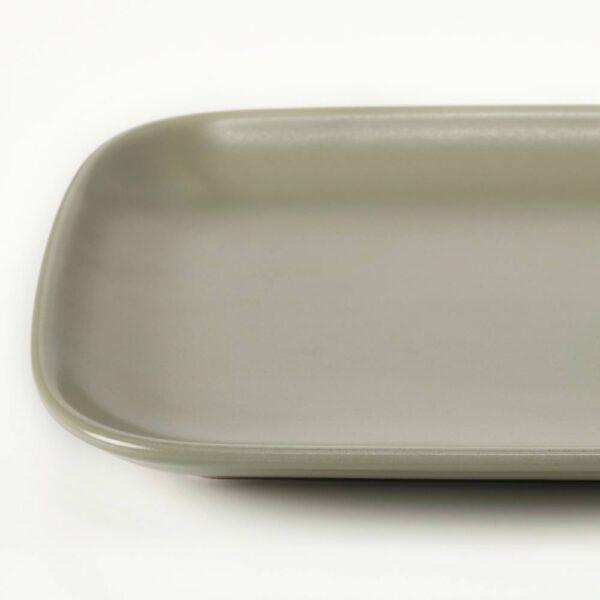 ФЭРГКЛАР Тарелка, матовая поверхность зеленый 30x18 см - 704.781.97