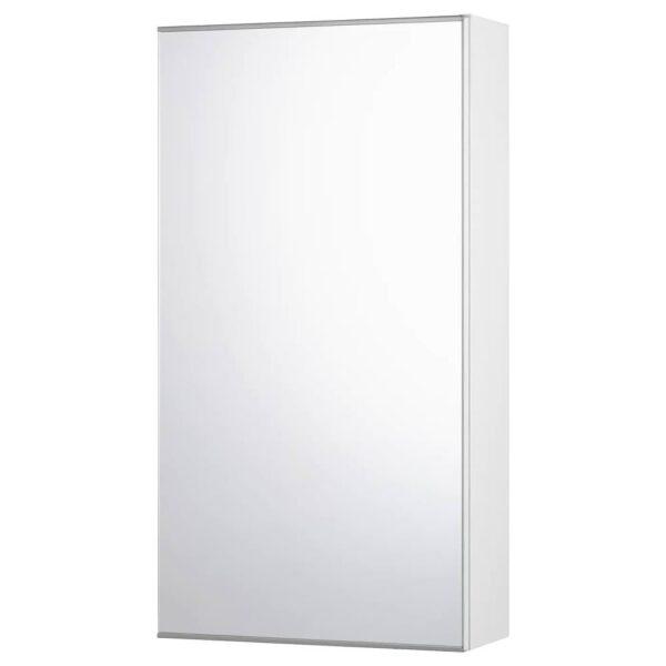 ФИСКОН Зеркальный шкаф с 1 дверцей, белый 40x15x75 см - 604.976.29