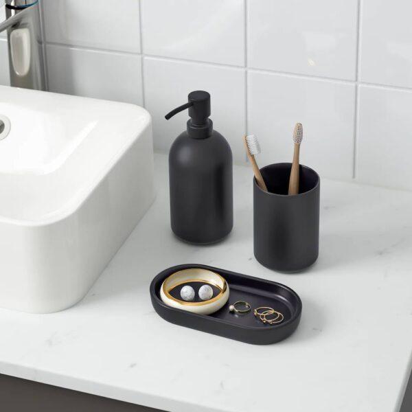 ГАНШЁН Набор для ванной,3 предмета - 105.097.95