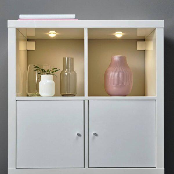 ХАЛВКЛАРТ Светодиодный софит для шкафа, белый - 704.636.24