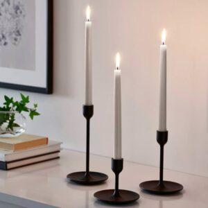 КЛОКХЕТ Неароматическая свеча, бежевый 25 см - 804.967.61