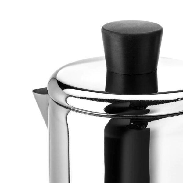 МЕТАЛЛИСК Эспрессо-кофеварка д/варочн панели, нержавеющ сталь 0.4 л - 503.602.26