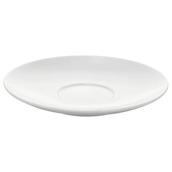 ВЭРДЕРА Блюдце, белый 15 см - 605.165.62