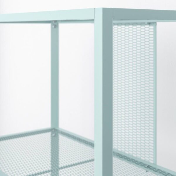 БАГГЕБО Стеллаж, металлический/светлая бирюза 60x30x80 см - 204.899.47