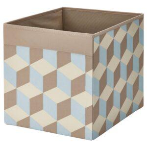 ДРЁНА Коробка, разноцветный 33x38x33 см - 004.964.06