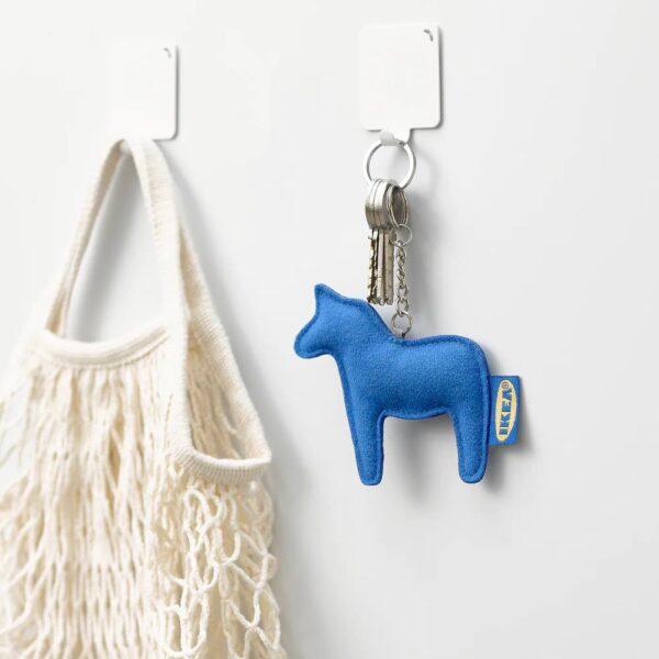 ЭФТЕРТРЭДА Кольцо для ключей, синий - 605.148.98