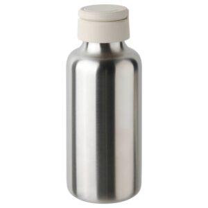 ЭНКЕЛЬСПОРИГ Бутылка для воды, нержавеющ сталь/бежевый 0.5 л - 904.972.08