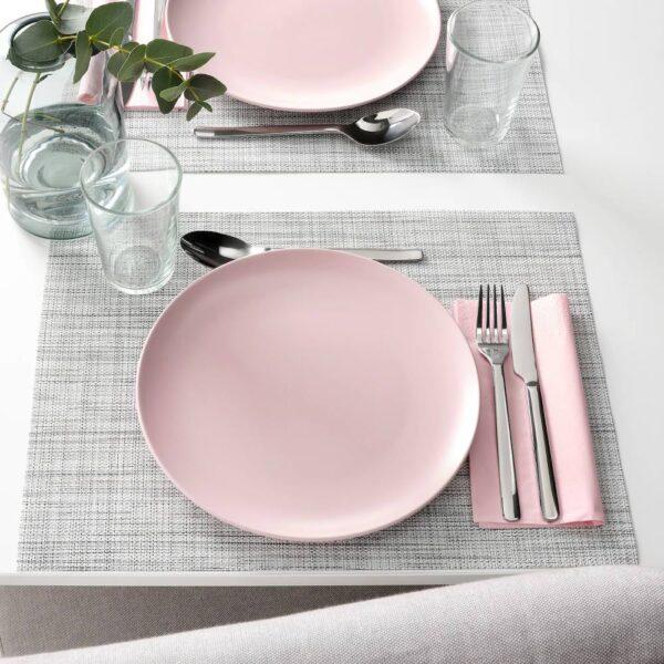 ФЭРГКЛАР Тарелка, матовая поверхность светло-розовый 26 см - 904.781.82