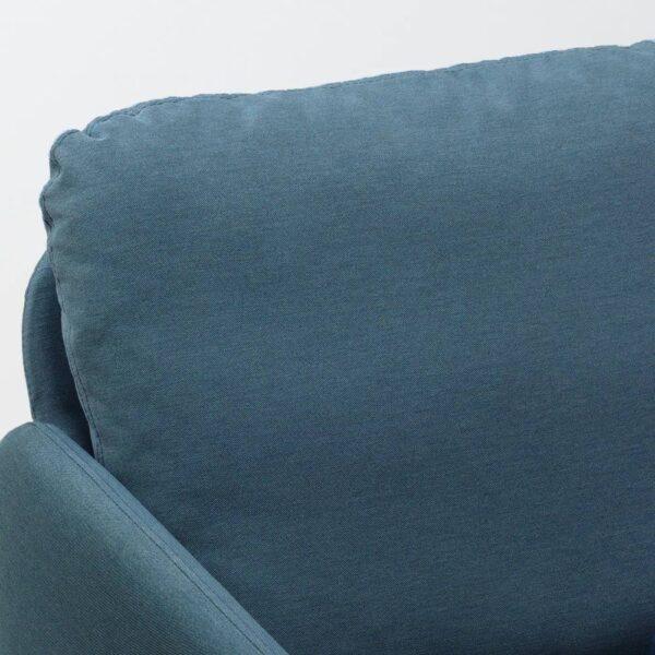 ГЛОСТАД 2-местный диван, Книса классический синий - 604.888.23