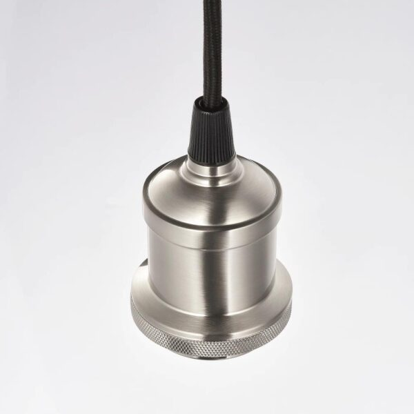 ЯКОБСБЮН / JALLBY ЭЛЛЬБИ Подвесной светильник, прозрачное стекло/никелированный - 593.881.17