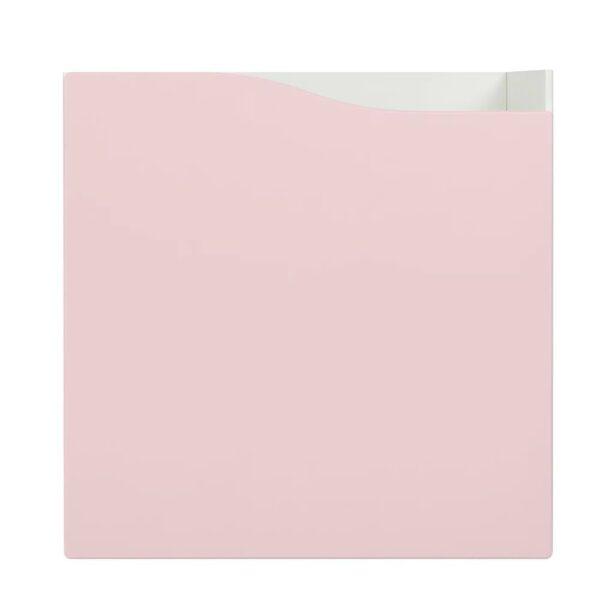 КАЛЛАКС Вставка с дверцей, бледно-розовый 33x33 см - 205.146.64