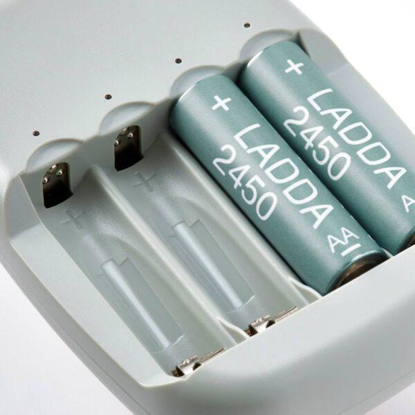 ЛАДДА Аккумуляторная батарейка, HR06 AA 1,2 В 2450 мА•ч - 505.065.30