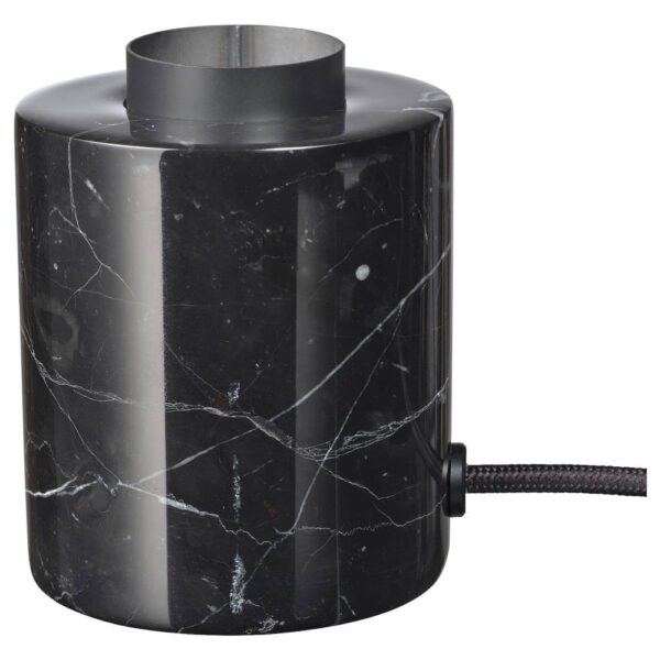 МАРКФРОСТ Лампа настольная, мрамор черный - 904.848.33