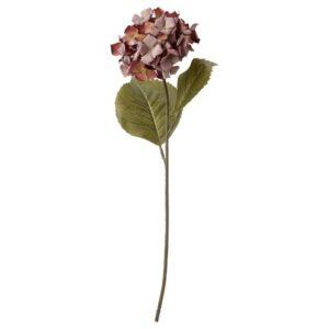 СМИККА Цветок искусственный, д/дома/улицы/Гидрангея розовый 60 см - 104.965.09