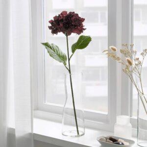 СМИККА Цветок искусственный, д/дома/улицы/Гидрангея темно-красный 60 см - 104.965.33