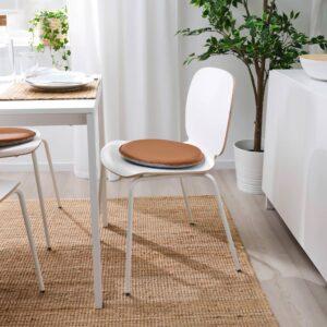СТАМФЛЮ Подушка на стул, Гранн золотисто-коричневый 36 см - 604.912.60