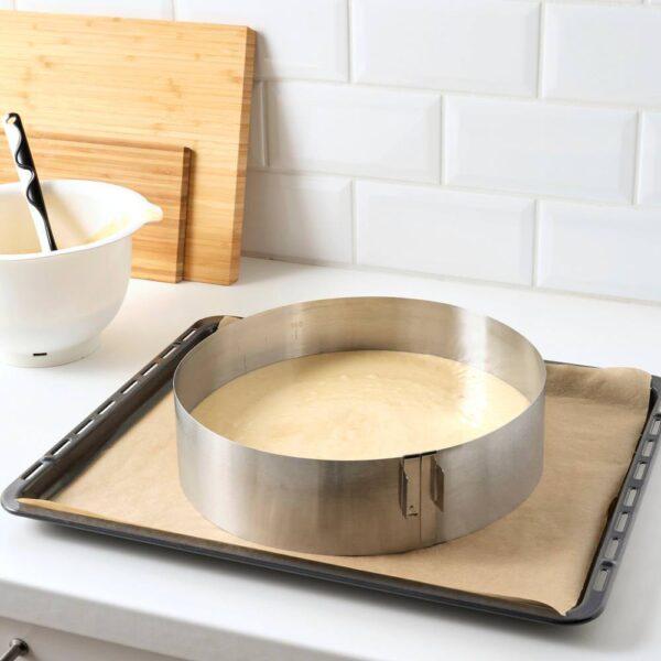 ТОРТБАК Рамка для выпечки, регулируемая 30 см - 504.855.37