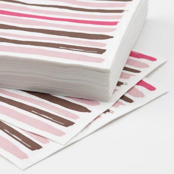 ТОРРАСТ Салфетка бумажная, розовый 33x33 см - 804.743.87