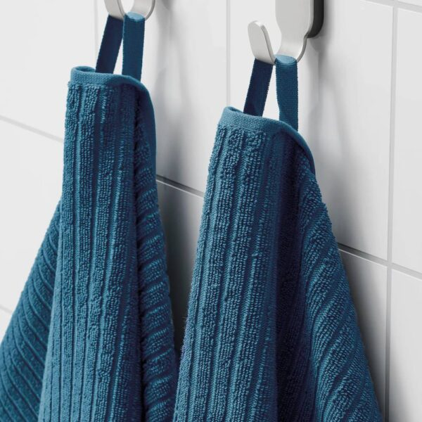 ВОГШЁН Простыня банная, синий 100x150 см - 404.880.51