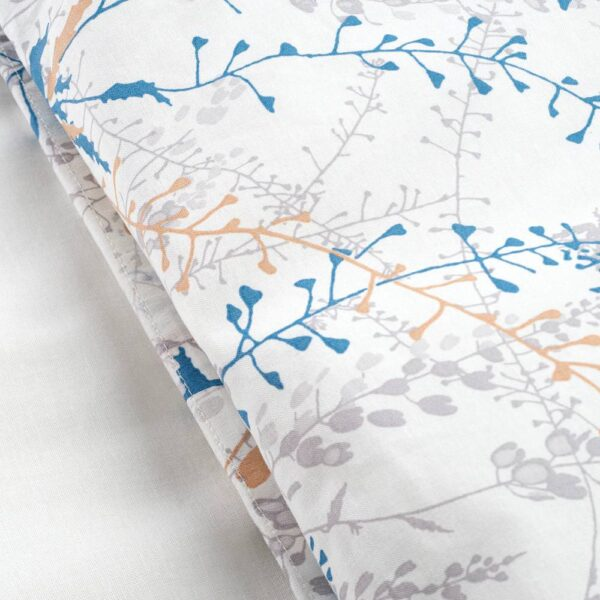 БЕНВЕД Постельное белье, 4 предм., цветок 200x200/50x70 см - 104.559.19